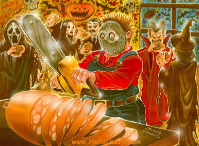 Halloween slices