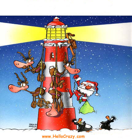 Santa Claus accidentado