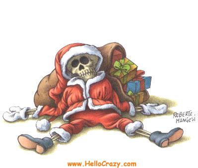 Lo sentimos, pero este año Santa Claus no vendrá.