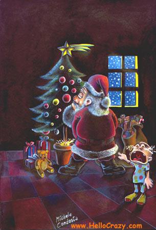 Babbo Natale cattivo...