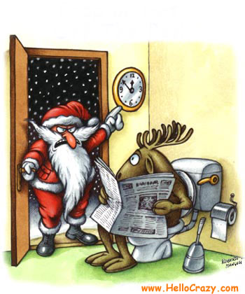 : Hurry up... please. I's almost Christmas!