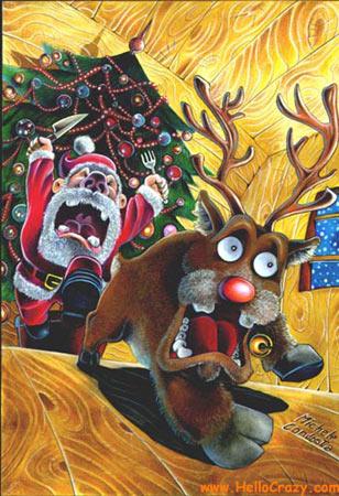 Babbo Natale è affamato...
