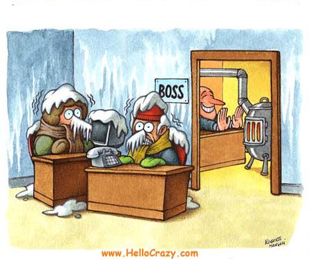 Calore umano in ufficio?