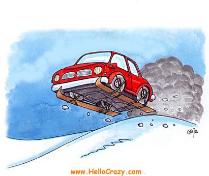 : Ski to Work