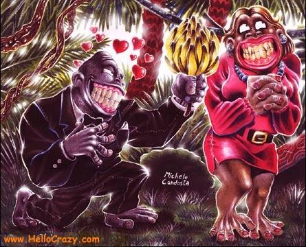 : I go ape over you!