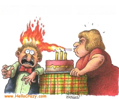 : Caldissimi auguri di buon compleanno!