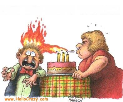 Hot birthday wishes!