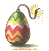An explosive Easter...