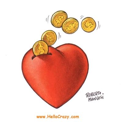 : Love or money?
