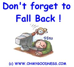 : don't forget to fall back