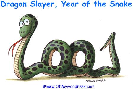 : Feliz año de la Serpiente