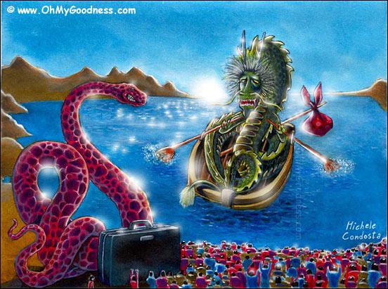 : Via il Dragone dentro il Serpente