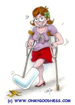 : Break a leg