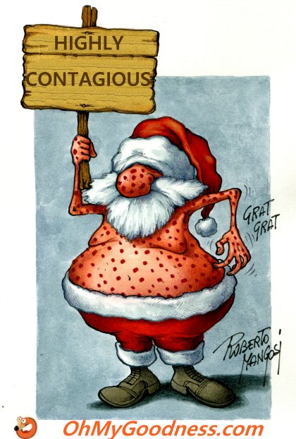 : Christmas is contagious...