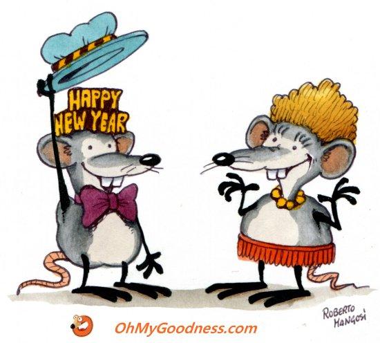 : Felice anno del del topo .. e della topa