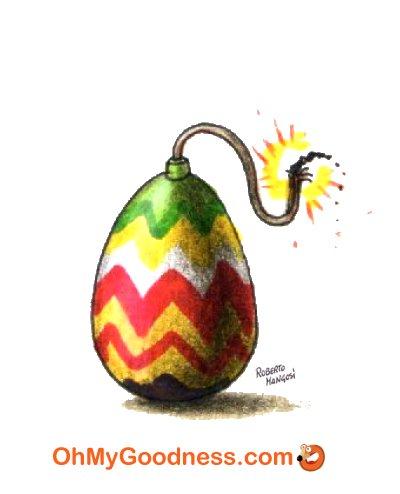: Una Pasqua esplosiva...