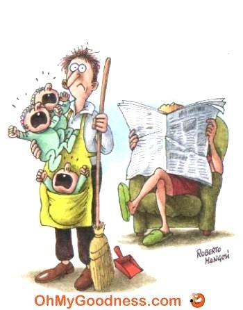 : Reposo de la madre...