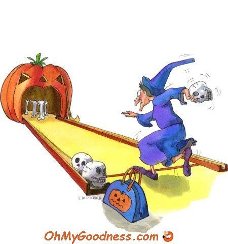 : Halloween Bowling