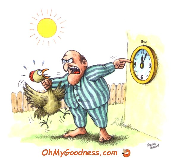 : I's late!
