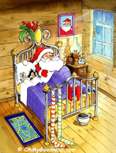 : Santa's nap