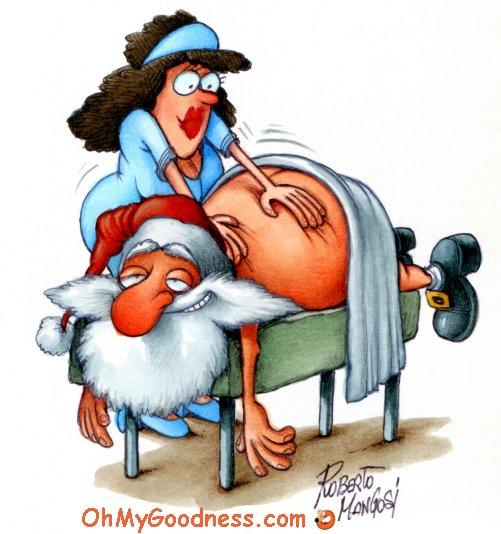 : Sending U a Merry Christmas  ̶M̶e̶s̶s̶a̶g̶e̶ ̶  Massage