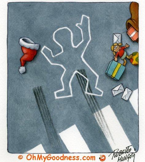 : Santa did not survive