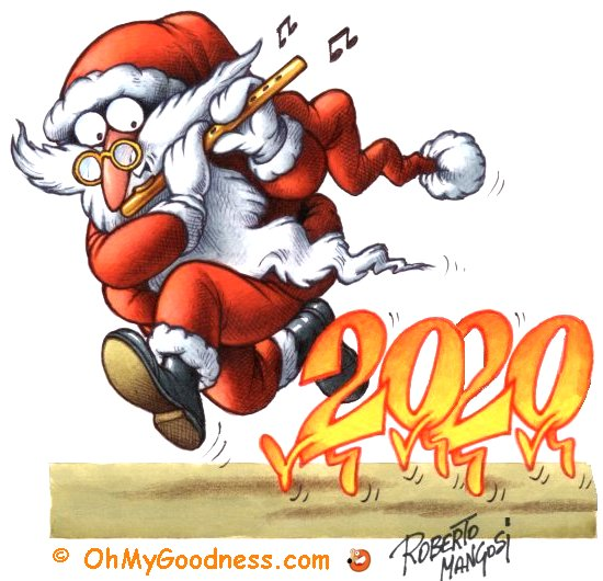 : Santa Claus, please take away the 2020!