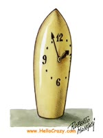 Suppository Clock