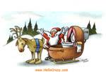 Santa's comforts