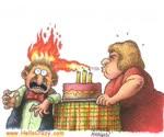 ¡Cumpleaños caliente!