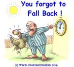 Hai dimenticato di cambiare orario!