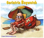 Senior Baywatch... waiting for the New Social Security Retirement Age