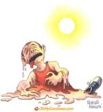 Squagliarsi dal caldo