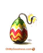 Una Pasqua esplosiva...