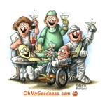 Brindar por la Salud...