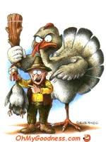 El Día de Acción de Gracias vegano sería más sano...