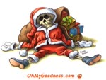 Santa Claus' has passed away.