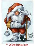 Santa Had An Accident...
