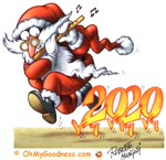 Santa Claus, please take away the 2020!