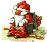 Santa Claus is preparing gifts...