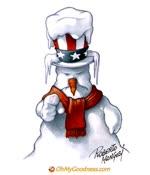 Frozen Uncle Sam