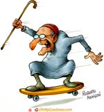 Nonno skater