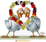 Giorno del Ringraziamento pieno d'amore
